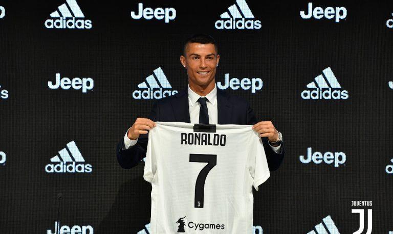 Ronaldo mit Trikot