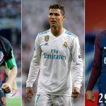 Wahl zum Weltfußballer 2018 mit Ronaldo und Messi, aber ohne Neymar
