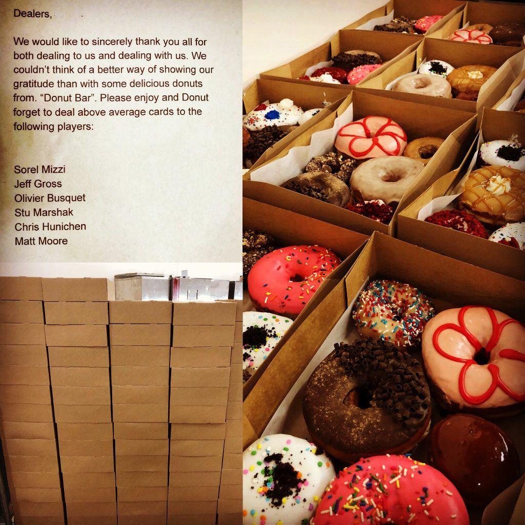 Donuts bei der WSOP