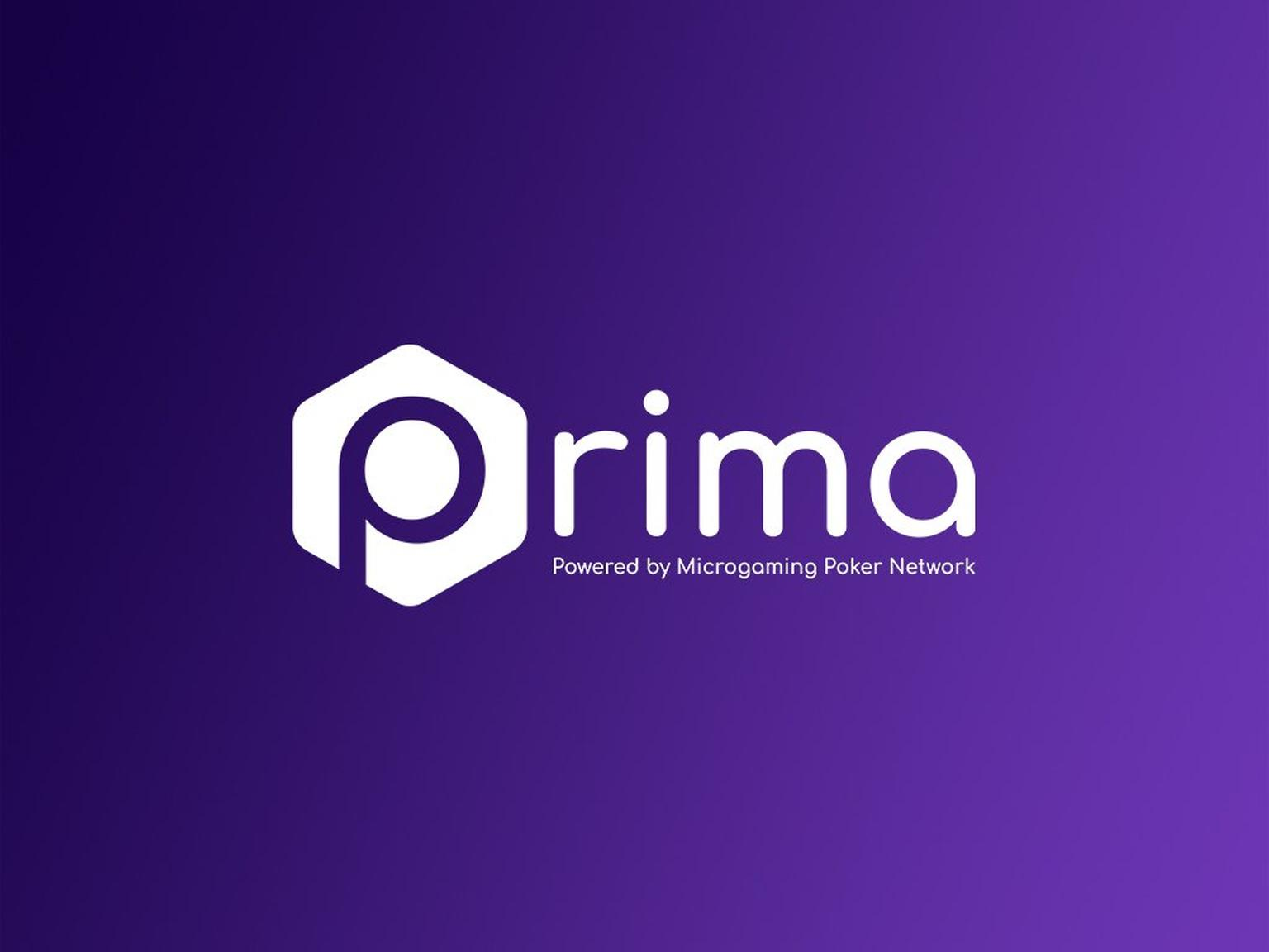 "Poker Software ""Prima"" Logo"