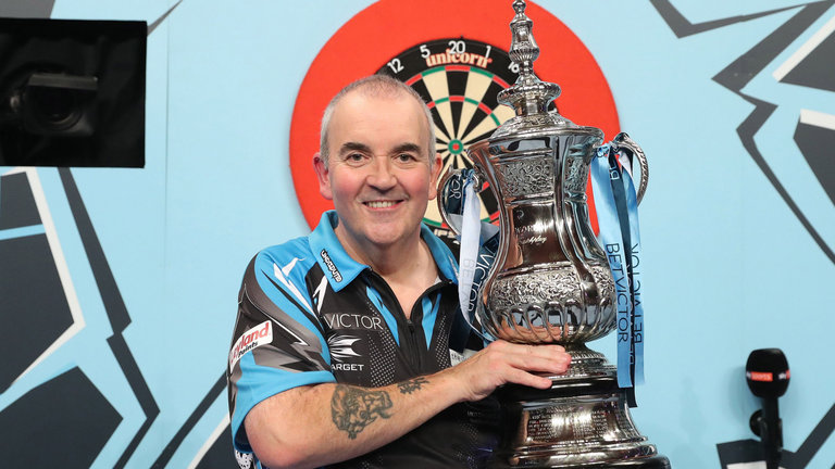 Darts Legende Phil Taylor
