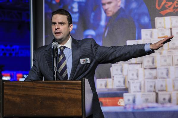 WSOP Turnierleiter Jack Effel