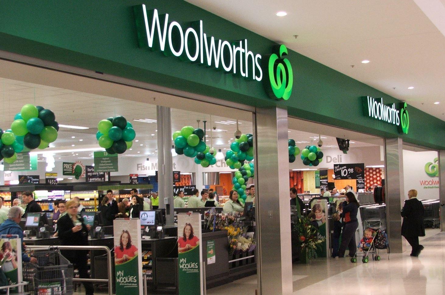 Woolworths Supermarkt Australien
