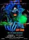 Das Plakat zur neuen Lady Gaga Show