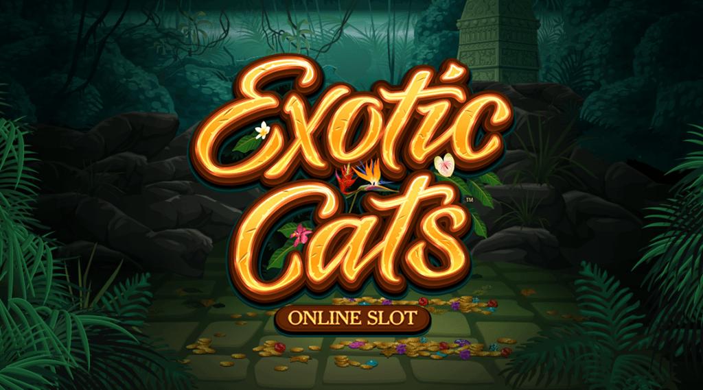 Slot Exotic Cats von Microgaming
