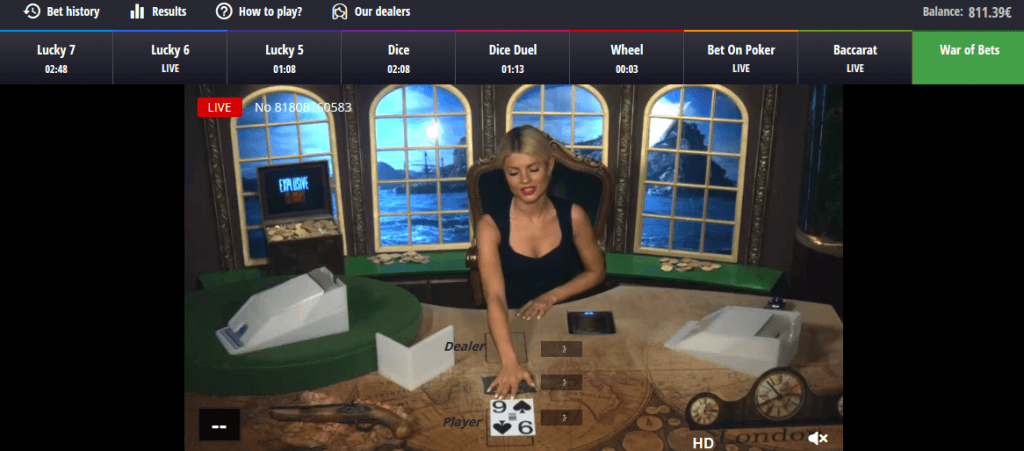 War of Bets von BetGames.TV