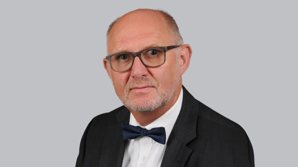 Klaus Teichert, Geschäftsführer der Hertha BSC Stadion GmbH_Hertha BSC