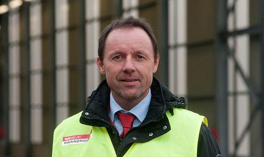 Rigobert Rainer, Leiter der Finanzpolizei für Kärnten und die Steiermark