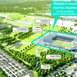 Plan für neues Hertha BSC-Stadion