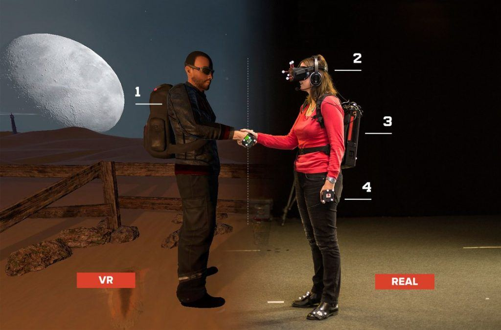 Virtual Reality bei Dreamscape Immersive