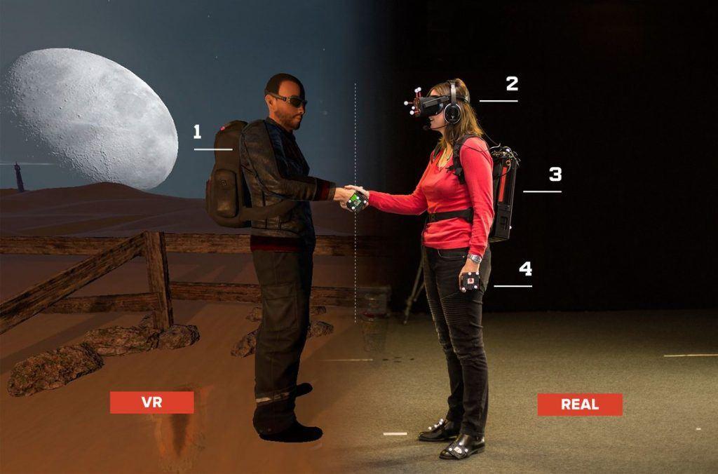 Virtual Reality bei Dreamscape Immersive