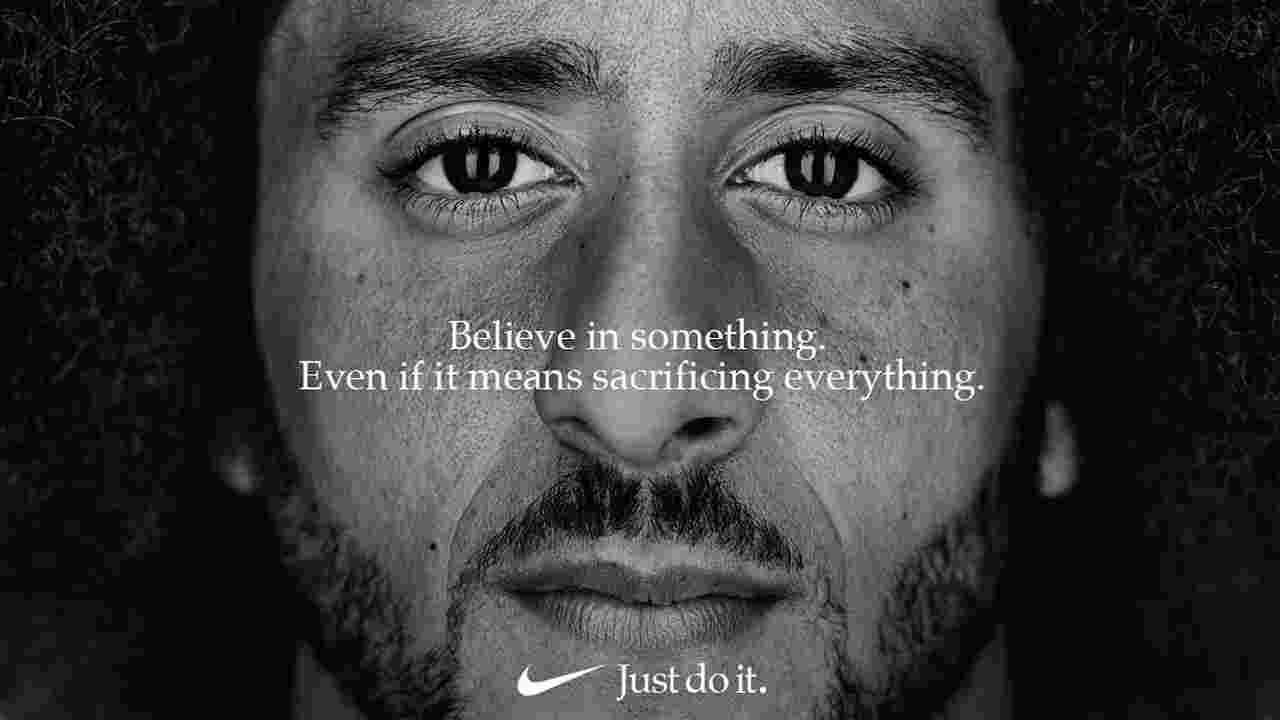 Colin Kaepernick, Nike ad
