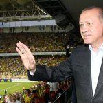 Erdogan in Fußballstadion
