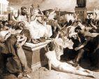 Der Bote Euklis in Athen