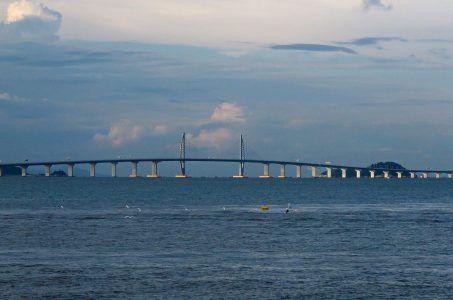 Die Hong Kong-Zhuhai-Macau (HKZM) Brücke