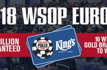 WSOPE 2018 Logo