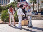 Elvis-Doubles in Las Vegas