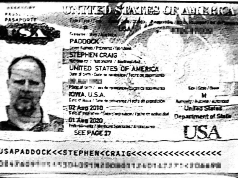 Stephen Paddock ID