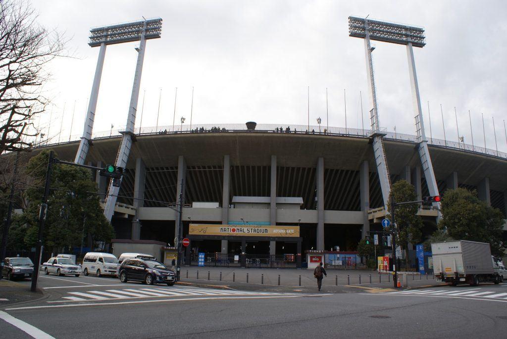 Das Nationalstadion Tokio