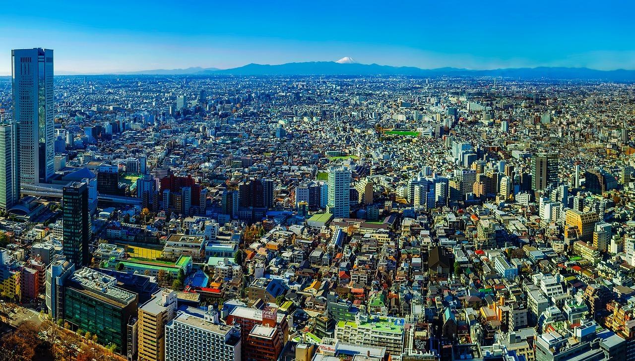 Tokio - Austragungsort der olympischen Spiele 2020