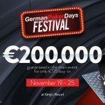 German Poker Days Festival 2018 im King´s Casino