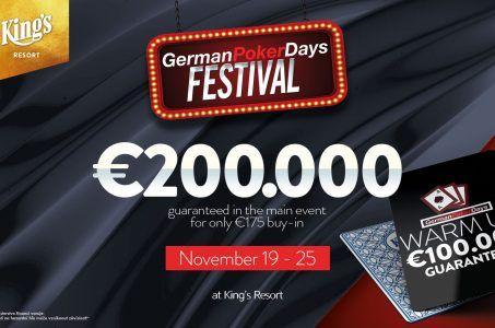 German Poker Festival 2018 im King´s Casino Logo