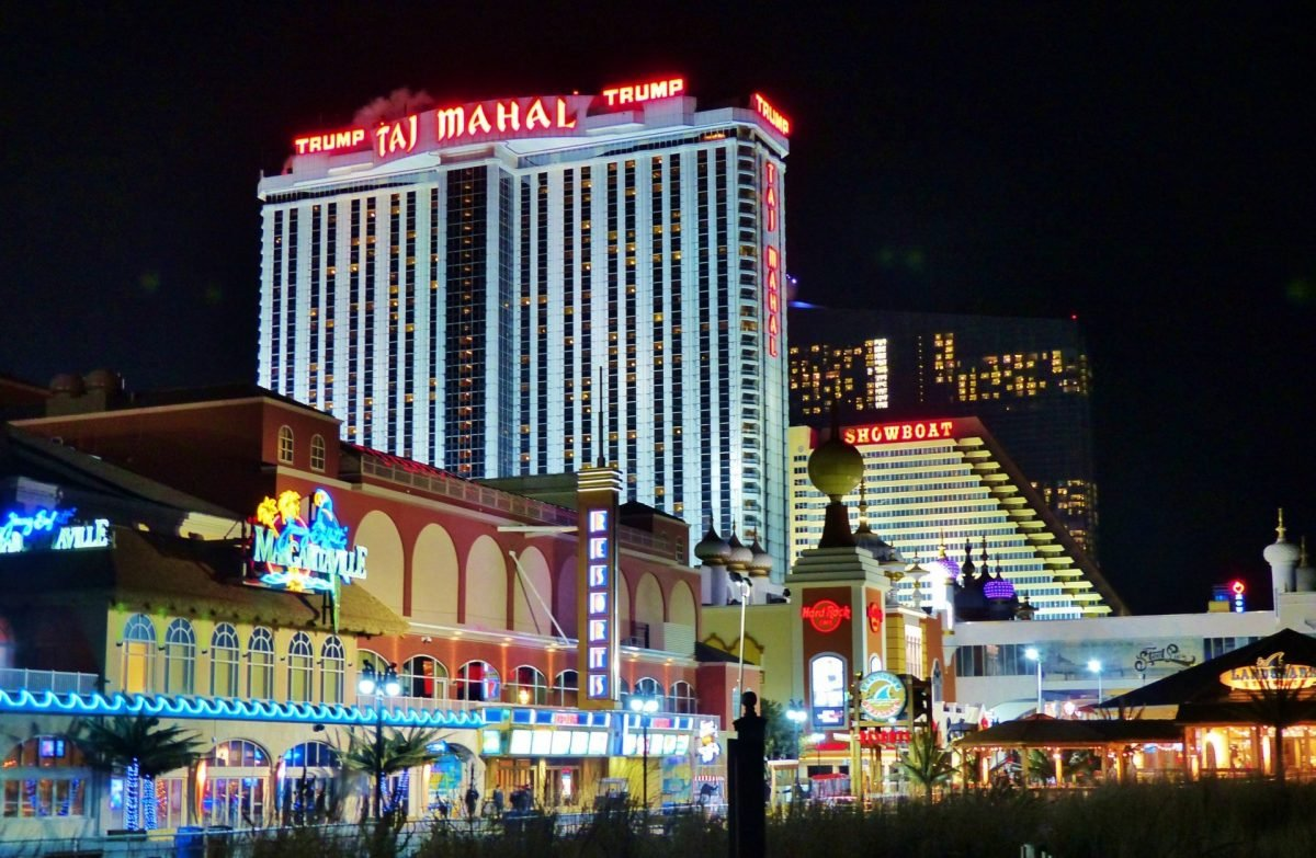Trump Taj Mahal Casinos in Atlantic City
