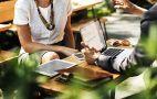 Gespräch, Business, Laptop