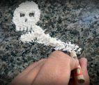 Kokain, Schädel