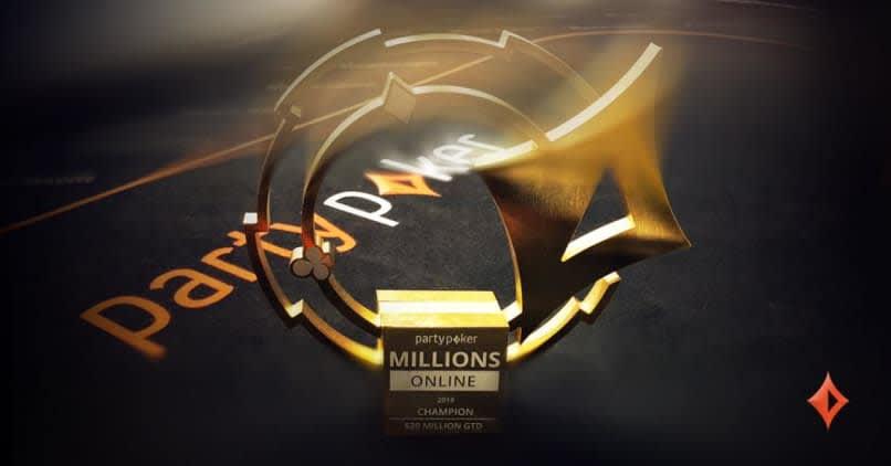 Partypoker MILLIONS Logo