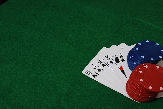 Karten, Pokerchips