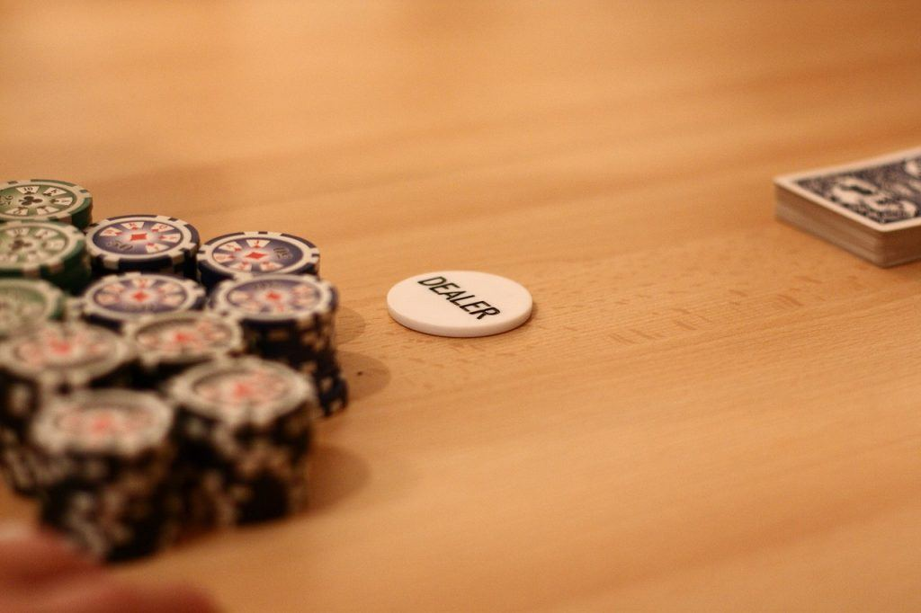 Pokerchips, Dealerbutton
