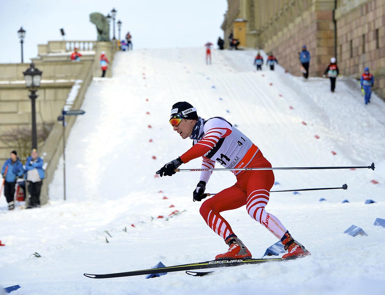 Skifahrer Johannes Dürr