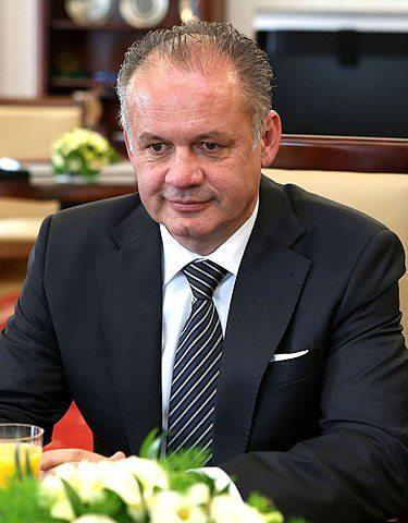 Präsident Slowakei Andrej Kiska