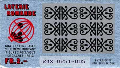 Rubbellos Lotterie Romande