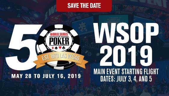 WSOP 2019 Logo