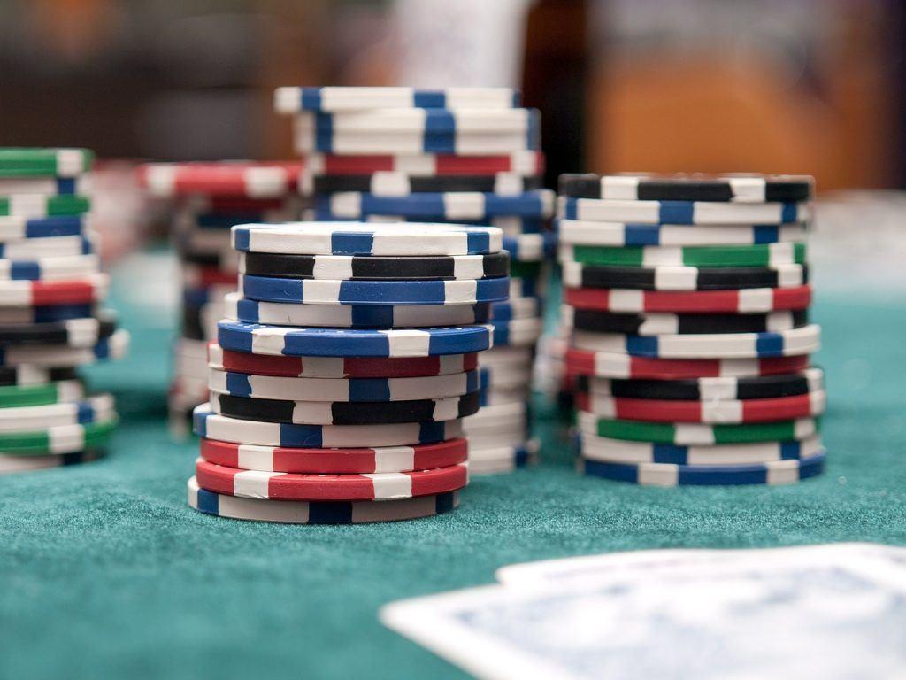 Pokerchips, Karten