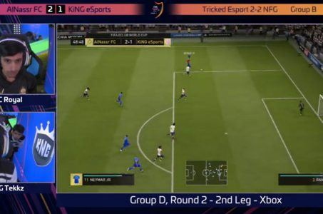 Screenshot FIFA-Game
