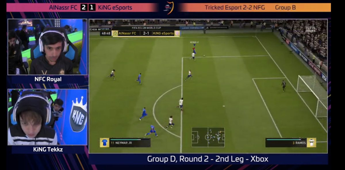 Screenshot FIFA-Game