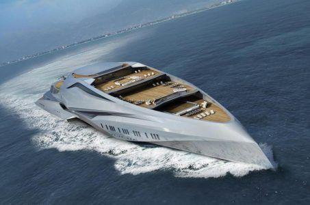 Studie Mega-Yacht Valkyrie