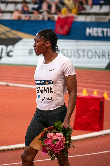 Caster Semenya in Paris