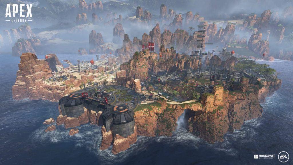 Screenshot Apex Legends Welt
