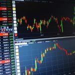 Börsenkurse auf Monitor