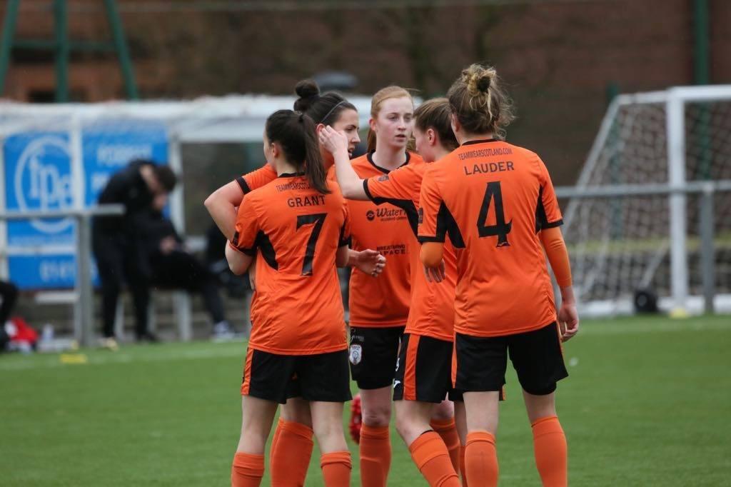 Spielerinnen des Glasgow City FC