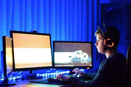 PC, Gaming, Teenager