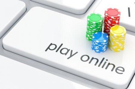 Online Glücksspiel Tastatur