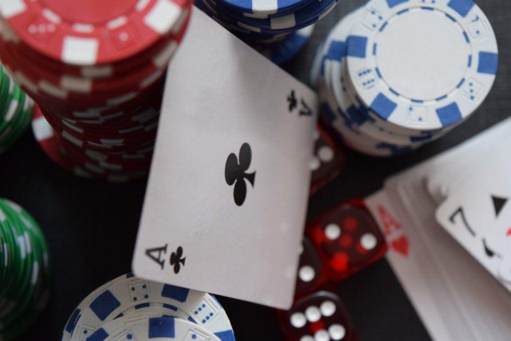Pokerkarten, Chips