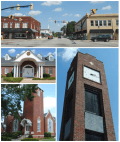 Simpsonville in South Carolina, USA