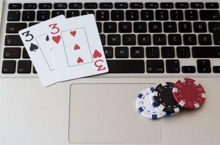 Karten Spielchips Notebook