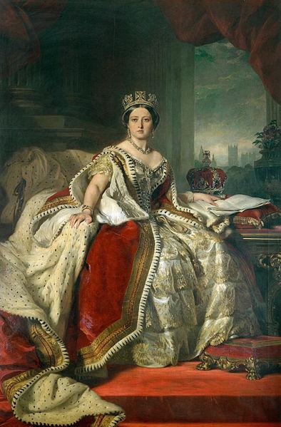 Gemälde, Königin Victoria